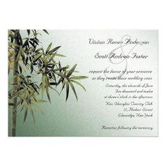 free nature wedding invitations | Lap of Nature - Wedding invitations from Zazzle.com