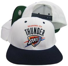 Oklahoma City Thunder White   Navy Adjustable Vintage Snapback Cap adidas.   29.99 2d20eb6ee