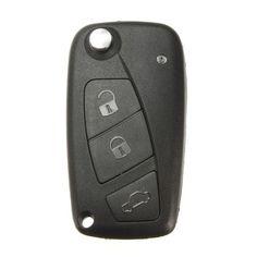 BangGood - Eachine1 Flip FOB Key Shell Case Blade With 3 Button For Fiat Panda Grande - AdoreWe.com