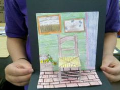 Art with Mrs. Smith: 3-D Van Gogh Chairs