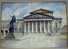 The Munich Opera House- Hitler