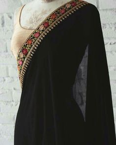 Modern Saree Click Visit link above for more details Indian Attire, Indian Wear, Indian Style, Indian Ethnic, Indian Dresses, Indian Outfits, Modern Saree, Simple Sarees, Desi Clothes