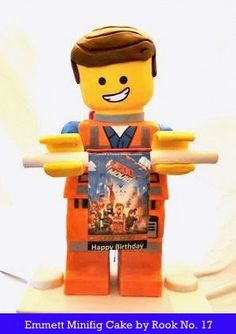 *Rook No. 17: recipes, crafts & whimsies for spreading joy*: The LEGO Movie Party: The 3D Emmet Minifigure Cake