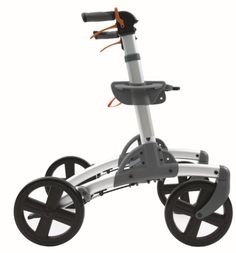 Smart Patrol rollator walker with 10 inch wheels for rough terrain