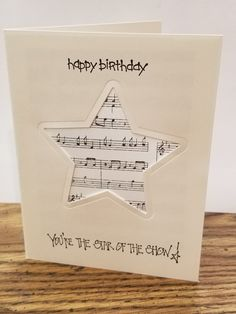 3D Pop-up Card  by Up With Paper SOUND CARD Classical Music Ensemble