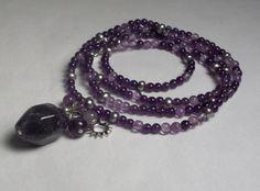 Amethyst Necklace/Bracelet - Shutter Baubles  http://www.etsy.com/listing/88382868/amethyst-necklacebracelet