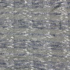 """Violet Blue Black Boucle Stripe Hacci Sweater Knit Fabric :: A super high end designer fabric!  From a private label designer for high end stores like Bloomingdales and Saks Fifth Avenue comes this amazing Hacci sweater knit in black and white with a violet blue stripe pattern.  Fabric has a boucle, or needle out looped knitted effect, and is light to medium weight with a nice stretch.   Stripes repeats every 4"""".  Great for sweaters, tops, cardigans, beanies, scarves, shawls, and more…"""
