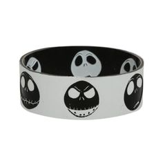 The Nightmare Before Christmas Jack Reversible Rubber Bracelet | Hot... ($3.99) ❤ liked on Polyvore featuring jewelry, bracelets, accessories, rubber bracelet, bracelet bangle, rubber jewelry, rubber bangles and christmas jewelry