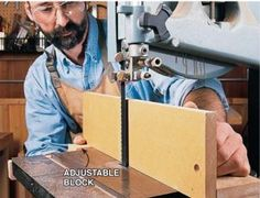 Resawing on the bandsaw allows you to cut logs into lumber, make thin boards from thick and cut your own veneer. Woodworking Courses, Woodworking Techniques, Popular Woodworking, Woodworking Shop, Bandsaw Box, Woodworking Magazine, Dust Collection, Logs, Firewood