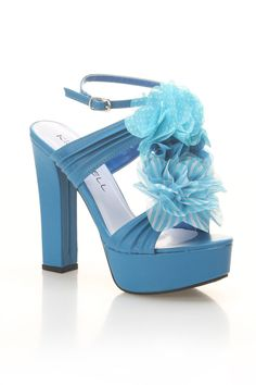 84c7722770be Addison-04 High Heel Sandals In Sky Blue - Beyond the Rack Beyond The Rack