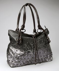Take a look at this Black Soho Shoulder Bag by Imoshion on #zulily today!