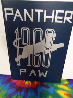 1968 Panther Pascagoula High school yearbook Pascagoula, Mississippi