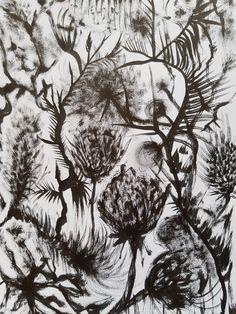 Kasvitieteellisiä kuvitelmia III   Taiko The Fosters, Abstract, Artwork, Summary, Work Of Art, Auguste Rodin Artwork, Artworks, Illustrators