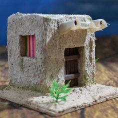 casita-con-toldo-02 Home Art, Ideas Para, Nativity, Bird, Art Prints, Wallpaper, Outdoor Decor, Inspiration, Navidad Diy
