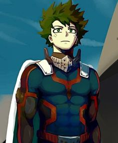 Could it be that my lil cinnamon bun boy turned into a man? Boku No Academia, My Hero Academia Shouto, Hero Academia Characters, Anime Wolf, Anime Angel, Animé Fan Art, Comic Anime, Deku Boku No Hero, Villain Deku