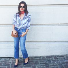 What Our Editorial Director Wears to Work—See the Pics! via @WhoWhatWear