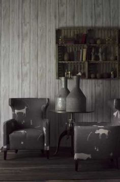 Engineer Collection - Timber Wallpaper available in Limed & White