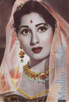 Madhubala Gorgeous Bollywood actor.