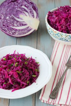 sweet and sour purple cabbage: One of my favorite Russian food show hosts is Julia Vysotskaya. I love watching her cook and her recipes are awesome too. If you speak Russian, I definitely recommend that you check her out. I was recently watching one of her Edim Doma shows and she was making this braised cabbage. My husband and I...Read More »