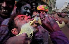 India Celebrates Holi with Colors and Cannabis (Bhang)!