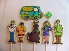 Scooby Doo cake toppers   Flickr - Photo Sharing!