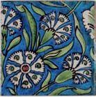 William de Morgan tile. Catleugh collection