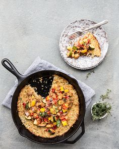 ratatouille + skillet quinoa and potato hash | what's cooking good looking // vegetarian