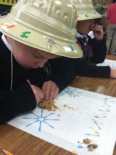 Solano's Kindergarten Class: Dinosaurs Week 2 & A Snow Day Dinosaur Projects, Dinosaur Crafts, Dinosaur Fossils, Dinosaur Party, Dinosaurs Preschool, Dinosaur Activities, Science Activities, Science Lessons, Dinosaur Classroom