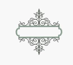 Instant Download Machine Embroidery design Frame by AliceBroderie