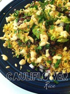 "Gluten-Free Recipe: Chipotle-Style Cauliflower ""Rice"""