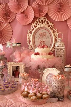 Ballerina Birthday Party Ideas | Photo 12 of 19 | Catch My Party
