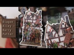 Diagon Alley Miniature - Jim kay // Beco diagonal Miniatura - Jim Kay - YouTube Mundo Harry Potter, Slytherin Harry Potter, Harry Potter Facts, Harry Potter Movies, Ravenclaw, Hogwarts, Harry Potter Bellatrix Lestrange, Draco Malfoy, Ginny Weasley