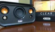 The X-Mini Clear portable Bluetooth speaker delivers clean, pure sound with a unique design http://cnet.co/1qHmqjT