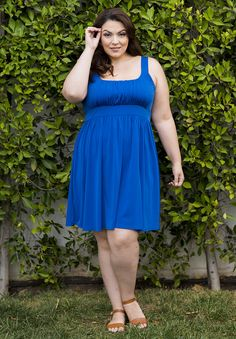 "Essential Tank Dress  ""A plus size dress with soft, wrinkle free fabric and a girly silhouette. Pair this with strappy sandals and a headwrap for a daytime market stroll."" The post  Essential Tank Dress  appeared first on  Vintage & Curvy .  http://www.vintageandcurvy.com/product/essential-tank-dress"