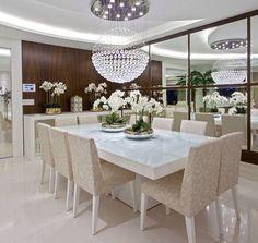 Sala de jantar luxo