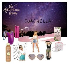 """#packforcoachella#"" by regina-flint-simone on Polyvore featuring ASOS, J. Valentine, Casetify, CamelBak, Wildfox, Bando and Sun Bum"