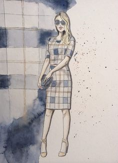 Fashion drawing/ Illustrationen