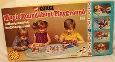 THE MAGIC ROUNDABOUT PLAYGROUND SET (DJ)