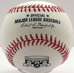 Rawlings Atlanta Braves Turner Field Final Season 1997-2016 Baseball Sealed Case