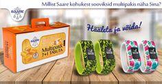 Kiika Saare Facebooki lehele, kus on käimas uus mäng. Magusad auhinnad!
