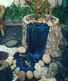 """Jungle & waterfall play at Elder Street Early Childhood Centre ("""",)"""