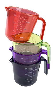 Mittakannu FUNKTION 300 ml muovi Liila/ Pinkki/ Musta, Kunhan on kivan värinen ja ajaa asiansa =P