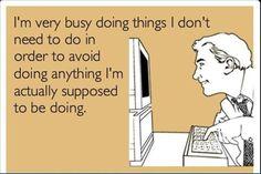 sooooooo many people do this at work....  annoying!!!!!