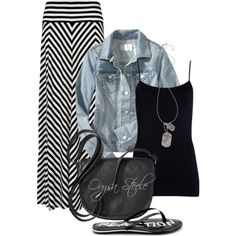 """""""Chevron Chic"""" by orysa on Polyvore"""