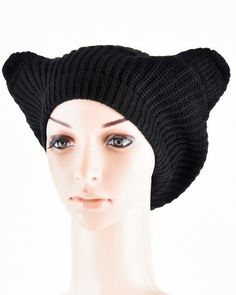 Knit Black Winter Warm Ear Hat Women Men Unisex Onesize #DazzledByJewels #Beret #DazzledByJewels #fashion #fashionista #fashionstyle #style #styleinspiration #trend #trendy #trending #trends #jewelry #jewelryaddict #shopping #jewelryforsale #jewelryoftheday #jewelrybox #jewelrylovers #instyle #trendsetter #glam #gift #giftsforher #women #teen #ears