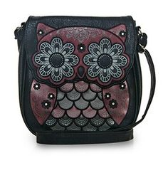 e5a1281d035 Looking for a cute owl purse  Check out this stylish Red   Grey Owl Crossbody  Bag made by Loungefly! It s perfect for everyday wear.