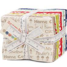 Moda Hometown Girl Prints 28 Fat Quarter Bundle by Pat Sloan for Moda Fabrics.