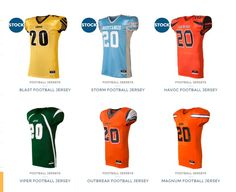 Football Teams: Buy a set plus get a FREE jersey. Limited Time Only. Free Quote Now: 800-580-5614. http://uniformstore.com/product-category/football-uniforms/jerseys/