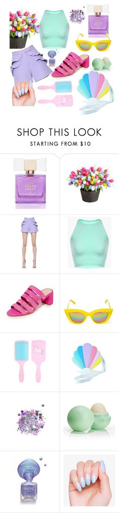 """Live Colorfuly"" by anjastrukar-1 ❤ liked on Polyvore featuring Kate Spade, Improvements, Elie Saab, Loeffler Randall, Quay, Sugarbaby, The Gypsy Shrine and Eos"