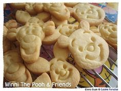 It had being so long after I re-baked these wonderful butter cookies. This round I had made these as a Children's Day Party for a Childcare...
